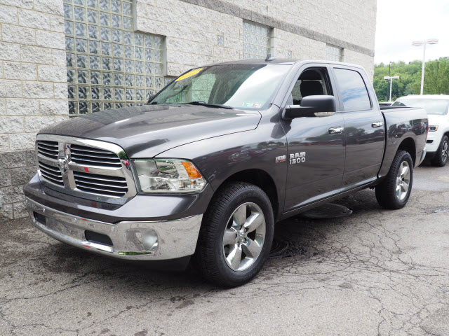2016 Ram 1500 >> Certified Pre Owned 2016 Ram 1500 Big Horn 4wd 4x4 Big Horn 4dr Crew Cab 5 5 Ft Sb Pickup