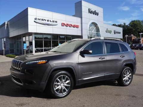 Certified Pre-Owned 2018 Jeep Cherokee Limited