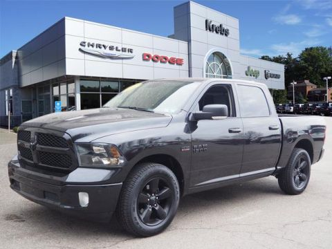 Certified Pre-Owned 2018 RAM 1500 SLT Night Edition
